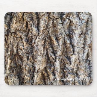 Mousepad Tapete do rato do latido de árvore da natureza