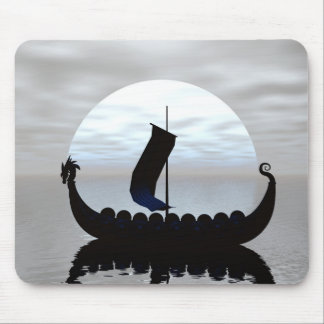 Mousepad Tapete do rato do navio de Viking