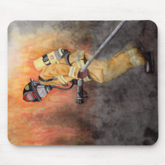 Mousepad Tapete do rato do sapador-bombeiro