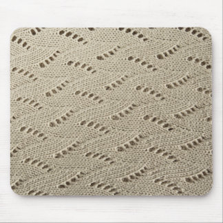 Mousepad Tapete do rato do tecido da malha do laço