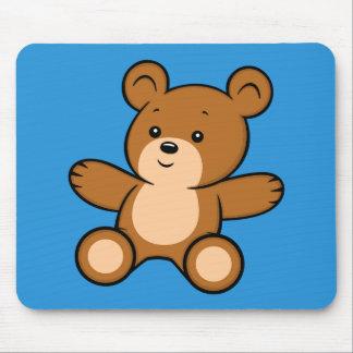 Mousepad Tapete do rato do urso de ursinho dos desenhos