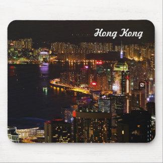 Mousepad Tapete do rato do viagem de Hong Kong Nightscape