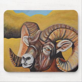Mousepad Tapete do rato dos carneiros do Big Horn