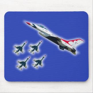Mousepad Tapete do rato dos Thunderbirds do U.S.A.F.