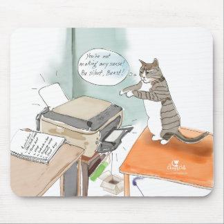 Mousepad Tapete do rato engraçado dos desenhos animados do