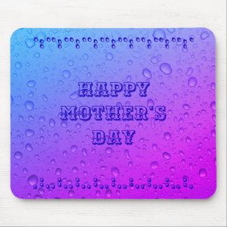 Mousepad Tapete do rato feliz do dia das mães