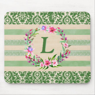 Mousepad Tapete do rato floral corajosamente romântico do