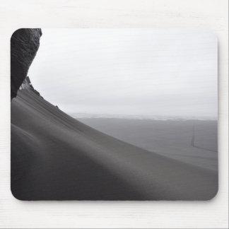 Mousepad Tapete do rato islandês da duna de areia