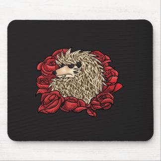 Mousepad Tapete do rato mal-humorado do ouriço