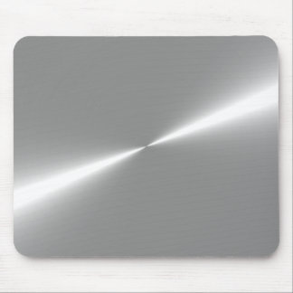 Mousepad Tapete do rato metálico de prata do olhar