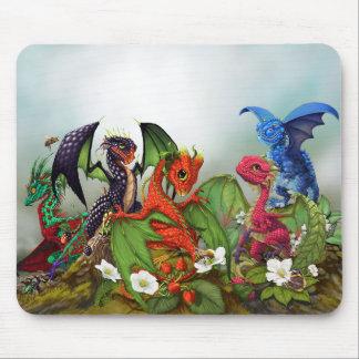 Mousepad Tapete do rato misturado dos dragões das bagas
