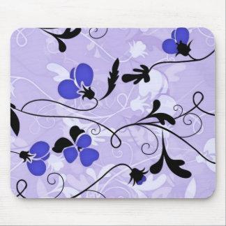 Mousepad Tapete do rato moderno do design floral -