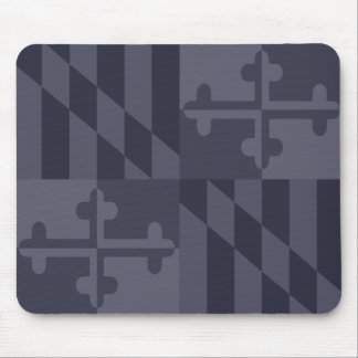 Mousepad Tapete do rato monocromático da bandeira de