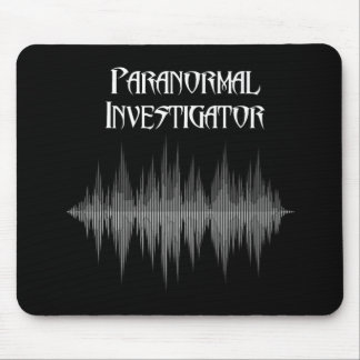 Mousepad Tapete do rato Paranormal de Soundwave do