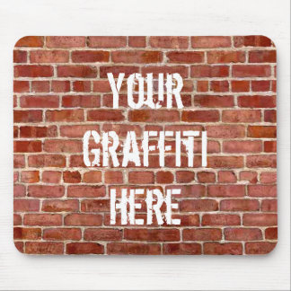 Mousepad Tapete do rato personalizado dos grafites da