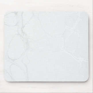 Mousepad Tapete do rato - prata de mármore