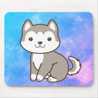 Mousepad Tapete do rato ronco do cão de filhote de cachorro