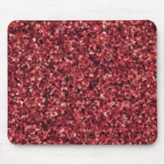 Mousepad Tapete do rato vermelho da camuflagem