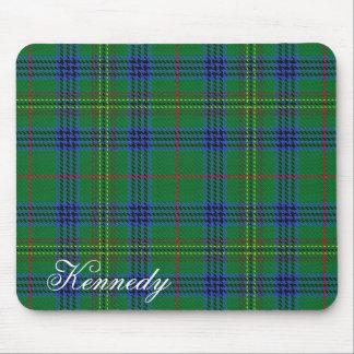 Mousepad Tartan escocês majestoso de Kennedy do clã