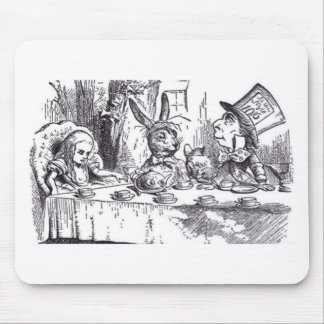 Mousepad Tea party louco do Hatter