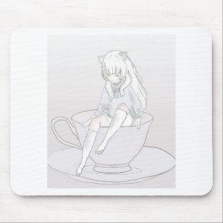 Mousepad tea party pastel minúsculo