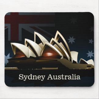 Mousepad Teatro da ópera de Sydney na noite
