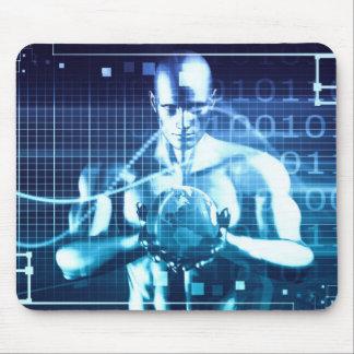 Mousepad Tecnologias integradas em um conceito nivelado