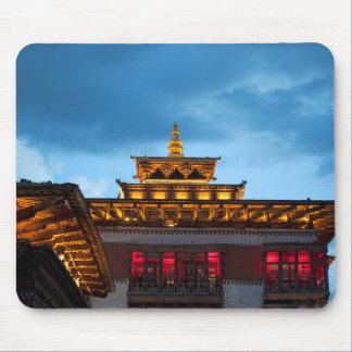 Mousepad Telhado budista de Dzong