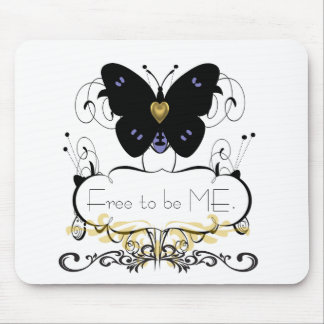 Mousepad TEMPLATE_BUTTERFLY (c) FREEDOM* unisex