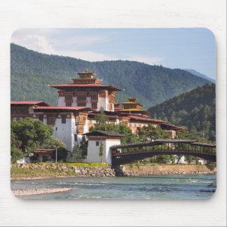 Mousepad Templo budista pelo rio