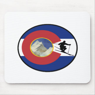 MOUSEPAD TEMPO DO ESQUI DE COLORADO