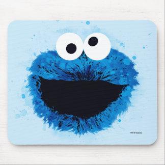 Mousepad Tendência da aguarela do monstro | do biscoito
