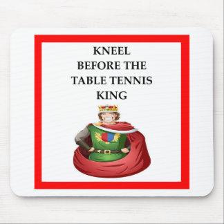 Mousepad ténis de mesa