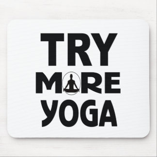 Mousepad Tente mais ioga