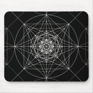 Mousepad Terceira geometria sagrado dimensional