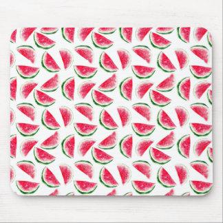 Mousepad Teste padrão bonito do abacaxi & da melancia