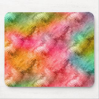 Mousepad Teste padrão colorido do cristal