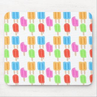 Mousepad Teste padrão colorido do Popsicle