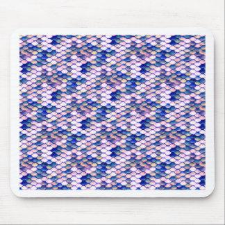 Mousepad Teste padrão cor-de-rosa do conto da sereia