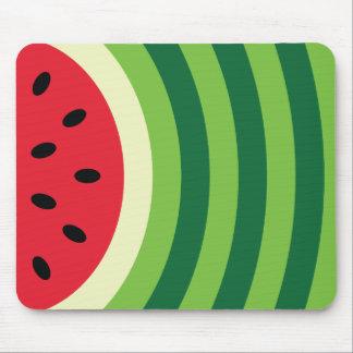 Mousepad Teste padrão da melancia