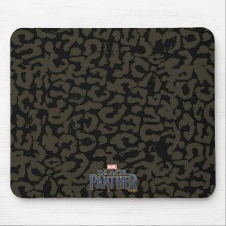 Mousepad Teste padrão da pantera da pantera preta | Erik