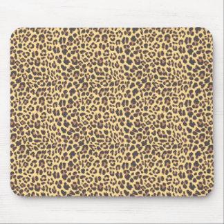 Mousepad Teste padrão da pele animal do impressão do