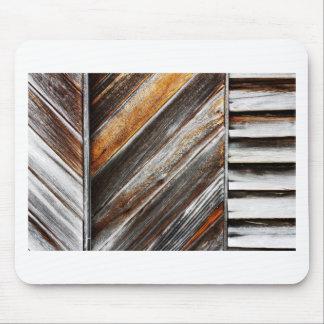 Mousepad Teste padrão de madeira