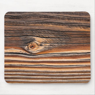 Mousepad Teste padrão de madeira da grão