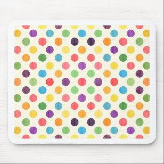 Mousepad Teste padrão de pontos bonito VII