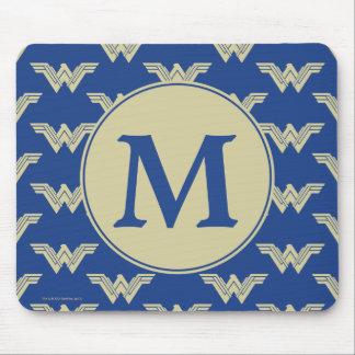 Mousepad Teste padrão do logotipo da mulher maravilha do