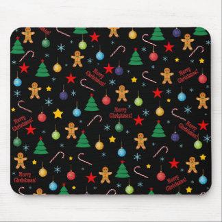 Mousepad Teste padrão do Natal