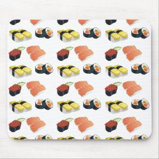 Mousepad Teste padrão do sushi