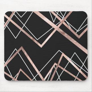 Mousepad Teste padrão linear do abstrato do triângulo do