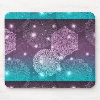 Mousepad Teste padrão luxuoso floral da mandala